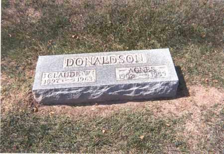 DONALDSON, CLAUDE W. - Franklin County, Ohio | CLAUDE W. DONALDSON - Ohio Gravestone Photos