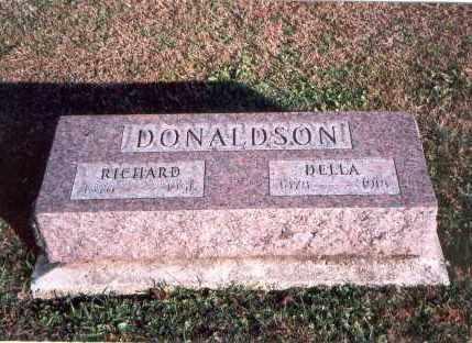 DONALDSON, DELLA - Franklin County, Ohio | DELLA DONALDSON - Ohio Gravestone Photos