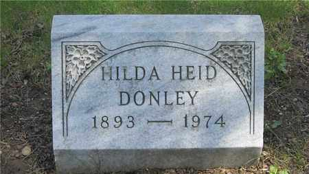 DONLEY, HILDA - Franklin County, Ohio | HILDA DONLEY - Ohio Gravestone Photos