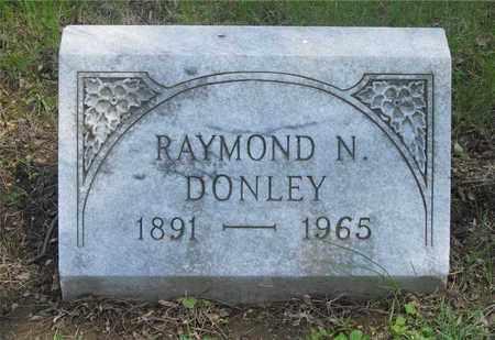 DONLEY, RAYMOND N. - Franklin County, Ohio | RAYMOND N. DONLEY - Ohio Gravestone Photos