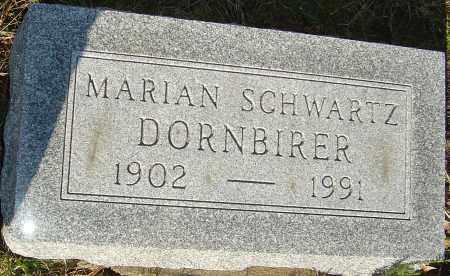 SCHWARTZ DORNBIRER, MARIAN - Franklin County, Ohio   MARIAN SCHWARTZ DORNBIRER - Ohio Gravestone Photos