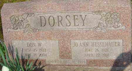 DORSEY, JO ANN - Franklin County, Ohio | JO ANN DORSEY - Ohio Gravestone Photos