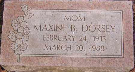 DORSEY, MAXINE - Franklin County, Ohio | MAXINE DORSEY - Ohio Gravestone Photos