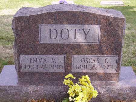 DOTY, EMMA M. - Franklin County, Ohio | EMMA M. DOTY - Ohio Gravestone Photos