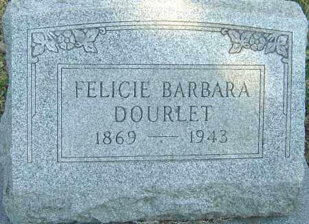 DOURLET, FELICIE BARBARA - Franklin County, Ohio | FELICIE BARBARA DOURLET - Ohio Gravestone Photos