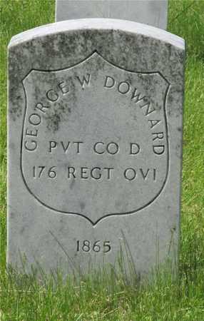DOWNARD, GEORGE W. - Franklin County, Ohio | GEORGE W. DOWNARD - Ohio Gravestone Photos