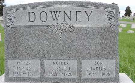 DOWNEY, CHARLES F - Franklin County, Ohio | CHARLES F DOWNEY - Ohio Gravestone Photos