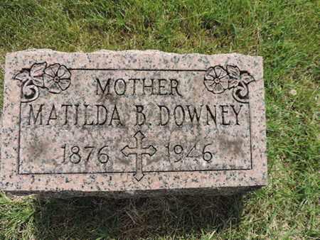 RAYMOND DOWNEY, MATILDA - Franklin County, Ohio   MATILDA RAYMOND DOWNEY - Ohio Gravestone Photos