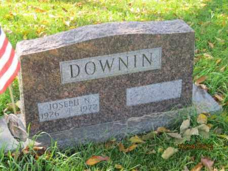 DOWNIN, JOSEPH NORMAN - Franklin County, Ohio | JOSEPH NORMAN DOWNIN - Ohio Gravestone Photos