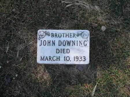 DOWNING, JOHN - Franklin County, Ohio | JOHN DOWNING - Ohio Gravestone Photos