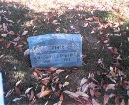ARLEDGE DOWNING, MARGARET L. - Franklin County, Ohio | MARGARET L. ARLEDGE DOWNING - Ohio Gravestone Photos