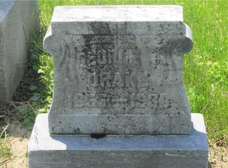 DRAKE, GEORGE B. - Franklin County, Ohio | GEORGE B. DRAKE - Ohio Gravestone Photos