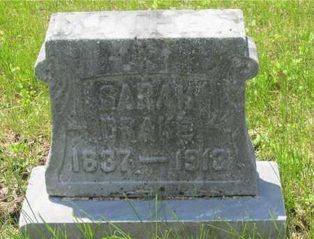 DRAKE, SARAH - Franklin County, Ohio   SARAH DRAKE - Ohio Gravestone Photos