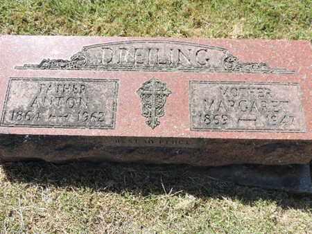 DREILING, MARGARET - Franklin County, Ohio | MARGARET DREILING - Ohio Gravestone Photos