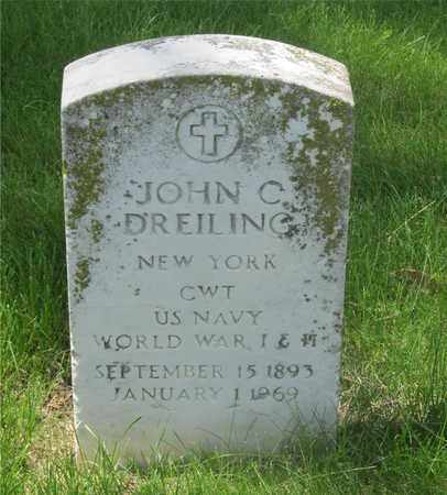 DREILING, JOHN C. - Franklin County, Ohio   JOHN C. DREILING - Ohio Gravestone Photos