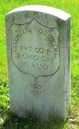DRISKOLL, CORNELIUS - Franklin County, Ohio | CORNELIUS DRISKOLL - Ohio Gravestone Photos