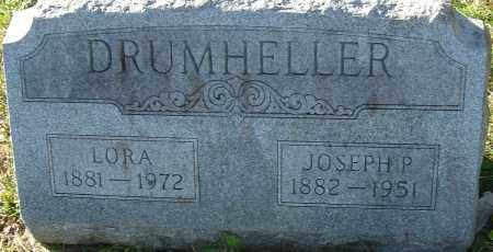 DRUMHELLER, LORA - Franklin County, Ohio | LORA DRUMHELLER - Ohio Gravestone Photos