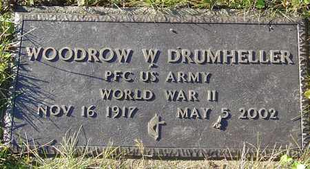 DRUMHELLER, WOODROW W - Franklin County, Ohio | WOODROW W DRUMHELLER - Ohio Gravestone Photos