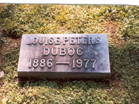 DUBOC, LOUISE - Franklin County, Ohio | LOUISE DUBOC - Ohio Gravestone Photos