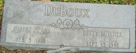DUBOUX, ROBERT - Franklin County, Ohio | ROBERT DUBOUX - Ohio Gravestone Photos