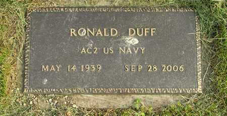 DUFF, RONALD - Franklin County, Ohio | RONALD DUFF - Ohio Gravestone Photos