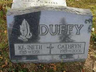 DUFFY, CATHRYN - Franklin County, Ohio | CATHRYN DUFFY - Ohio Gravestone Photos