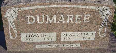 DUMAREE, EDWARD L - Franklin County, Ohio | EDWARD L DUMAREE - Ohio Gravestone Photos