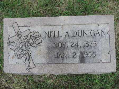 DUNIGAN, NELL A. - Franklin County, Ohio | NELL A. DUNIGAN - Ohio Gravestone Photos