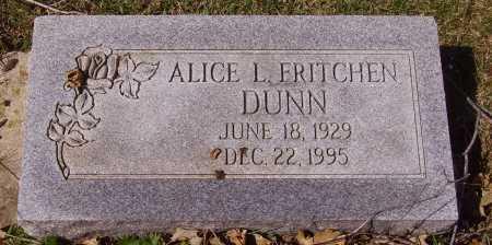 DUNN, ALICE L. - Franklin County, Ohio | ALICE L. DUNN - Ohio Gravestone Photos