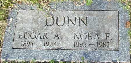 DUNN, EDGAR - Franklin County, Ohio | EDGAR DUNN - Ohio Gravestone Photos