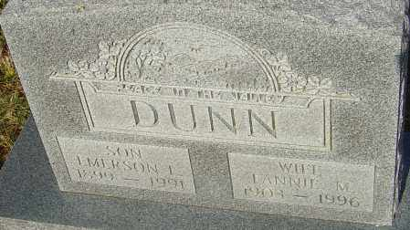 DUNN, EMERSON L - Franklin County, Ohio | EMERSON L DUNN - Ohio Gravestone Photos
