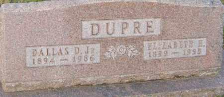 DUPRE, ELIZABETH - Franklin County, Ohio | ELIZABETH DUPRE - Ohio Gravestone Photos