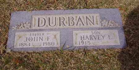 DURBAN, JOHN F. - Franklin County, Ohio | JOHN F. DURBAN - Ohio Gravestone Photos