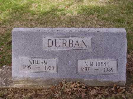 DURBAN, V.M. IRENE - Franklin County, Ohio | V.M. IRENE DURBAN - Ohio Gravestone Photos