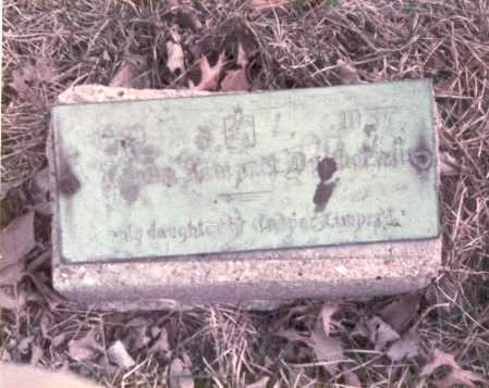 DURBORAW, ELIZABETH - Franklin County, Ohio | ELIZABETH DURBORAW - Ohio Gravestone Photos