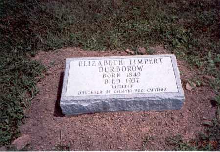 LIMPERT DURBOROW, ELIZABETH - Franklin County, Ohio | ELIZABETH LIMPERT DURBOROW - Ohio Gravestone Photos