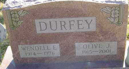 DURFEY, WENDELL E - Franklin County, Ohio | WENDELL E DURFEY - Ohio Gravestone Photos