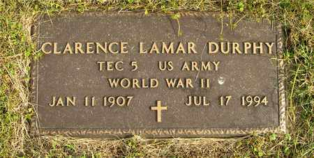 DURPHY, CLARENCE LAMAR - Franklin County, Ohio | CLARENCE LAMAR DURPHY - Ohio Gravestone Photos