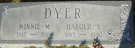 DYER, HAROLD B - Franklin County, Ohio | HAROLD B DYER - Ohio Gravestone Photos
