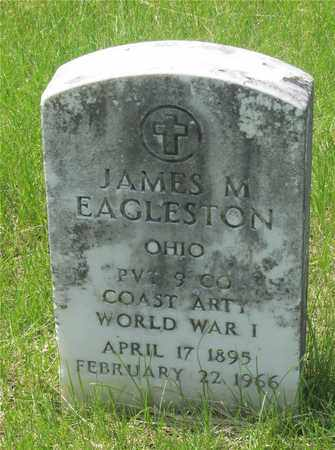 EAGLESTON, JAMES M. - Franklin County, Ohio | JAMES M. EAGLESTON - Ohio Gravestone Photos