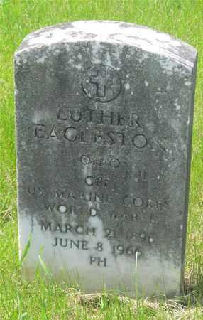 EAGLESTON, LUTHER - Franklin County, Ohio | LUTHER EAGLESTON - Ohio Gravestone Photos