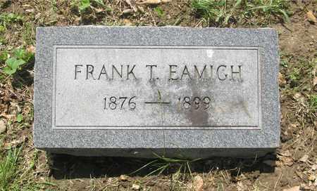 EAMICH, FRANK T. - Franklin County, Ohio   FRANK T. EAMICH - Ohio Gravestone Photos