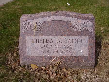 EATON, THELMA A. - Franklin County, Ohio | THELMA A. EATON - Ohio Gravestone Photos