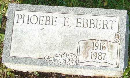 MOLDER EBBERT, PHOEBE - Franklin County, Ohio | PHOEBE MOLDER EBBERT - Ohio Gravestone Photos