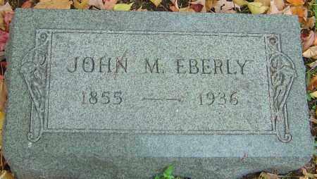 EBERLY, JOHN M - Franklin County, Ohio   JOHN M EBERLY - Ohio Gravestone Photos