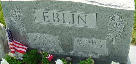 EBLIN, LARRY - Franklin County, Ohio   LARRY EBLIN - Ohio Gravestone Photos