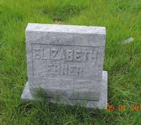 EBNER, ELIZABETH - Franklin County, Ohio   ELIZABETH EBNER - Ohio Gravestone Photos