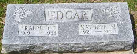 MATTHEWS EDGAR, KATHRYN - Franklin County, Ohio   KATHRYN MATTHEWS EDGAR - Ohio Gravestone Photos