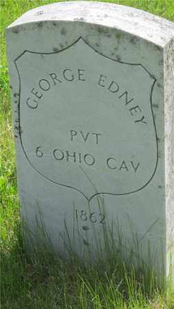 EDNEY, GEORGE - Franklin County, Ohio | GEORGE EDNEY - Ohio Gravestone Photos