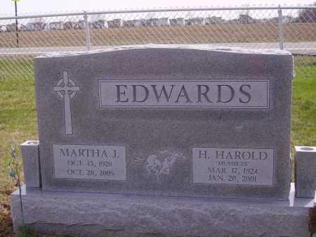 EDWARDS, H. HAROLD - Franklin County, Ohio | H. HAROLD EDWARDS - Ohio Gravestone Photos